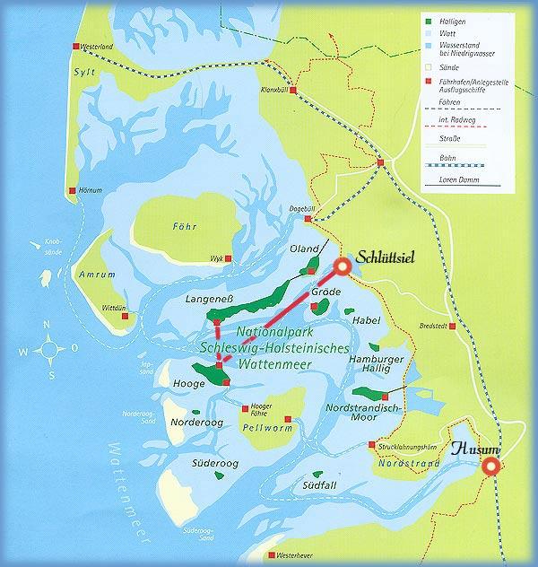 Anreise Zur Insel Wangerooge Mit Dem Auto Pkw: So Finden Sie Uns
